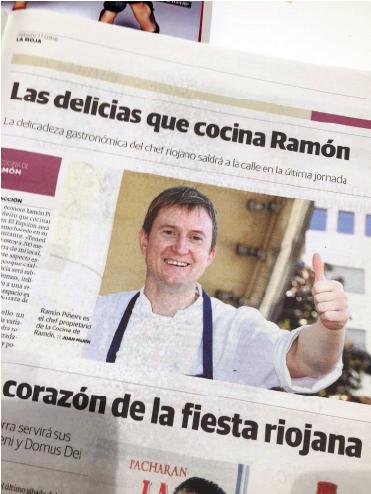 Las delicias que cocina Ramón